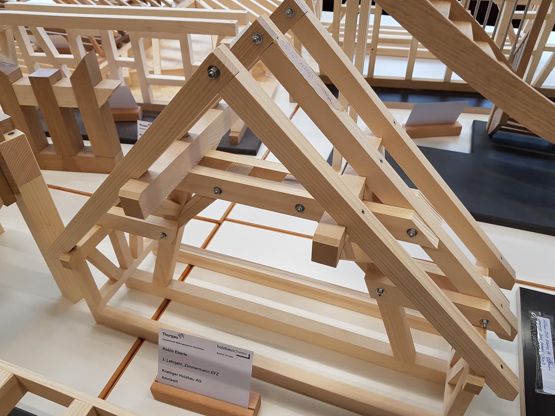 Modellwettbewerb 2019 GBZ Weinfelden: Modell «Binder» von Robin Eberle l Krattiger Holzbau AG Amriswil