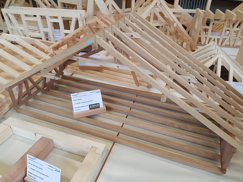 Modellwettbewerb 2019 GBZ Weinfelden: Modell «Binder» von Roger Straub l Krattiger Holzbau AG Amriswil