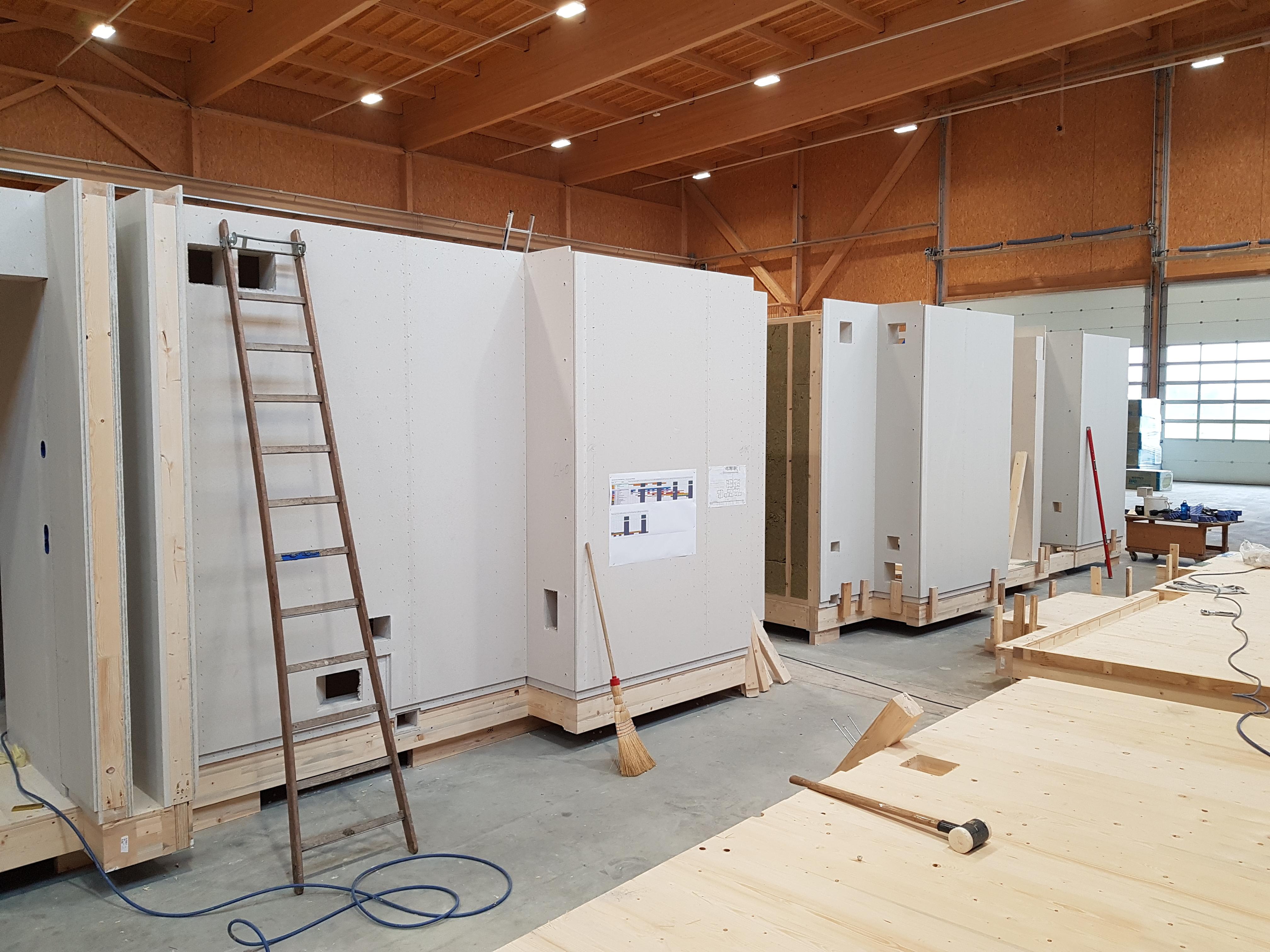 Bad Horn Hotel & Spa: Holzmodule für Hotelsuiten   Krattiger Holzbau AG Amriswil