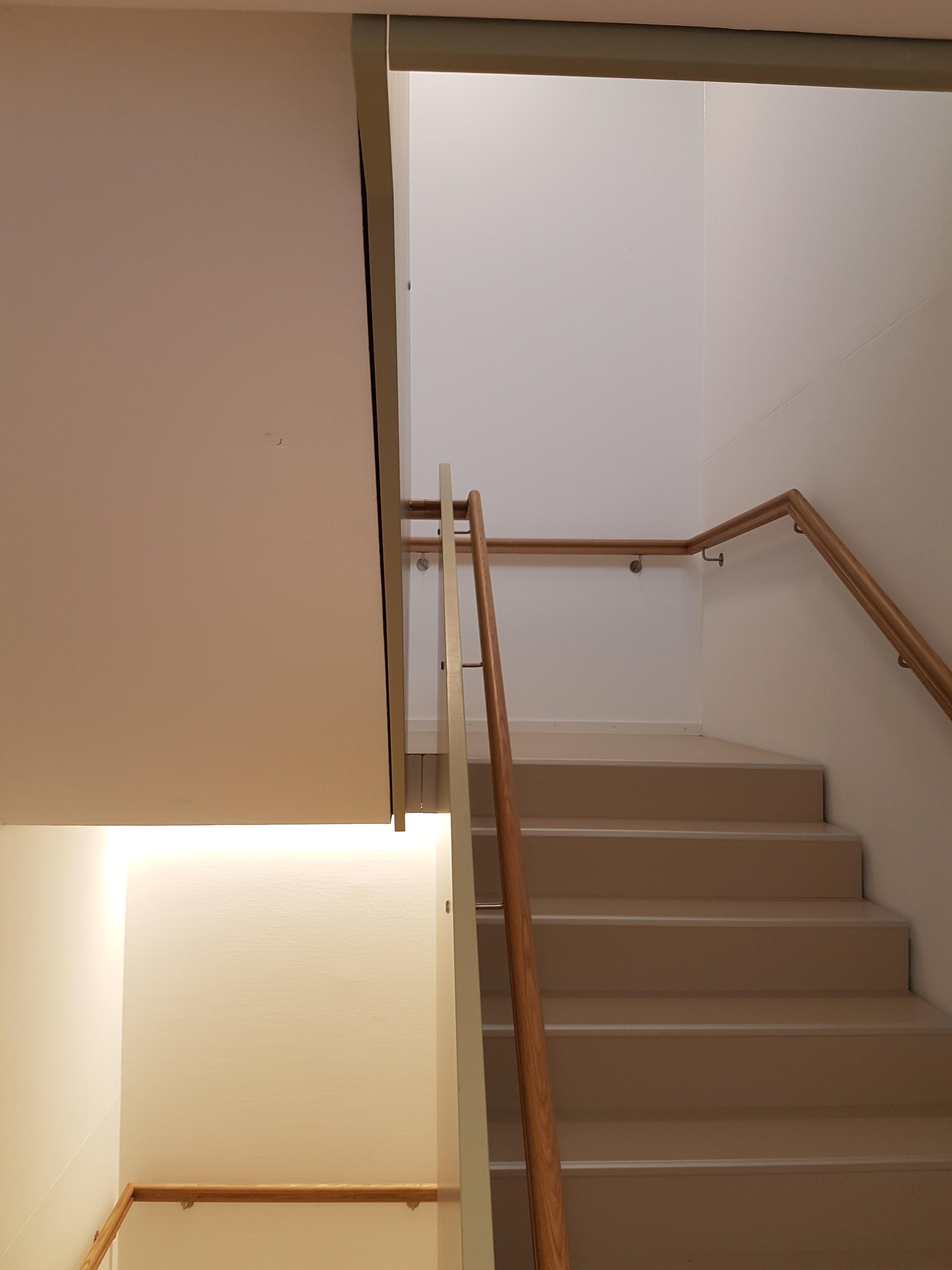 Brandschutz mit Beton: Treppenhaus in der Alterssiedlung Reutenen Frauenfeld l Krattiger Holzbau AG Amriswil