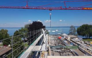 ZIK-Areal Arbon: Montage von 13 Wohnungen in 5 Wochen l Krattiger Holzbau AG Amriswil