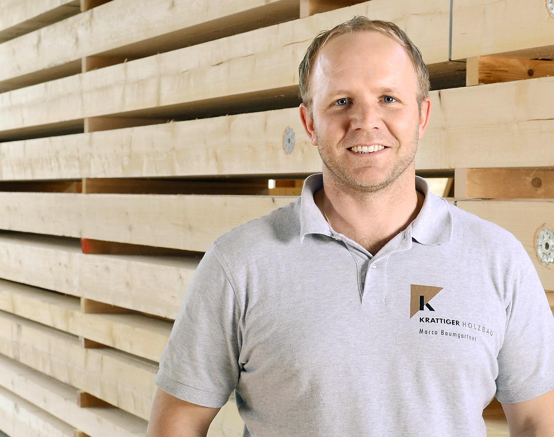 Marco Baumgartner | Projektleiter/Zimmerpolier | Krattiger Holzbau AG Amriswil