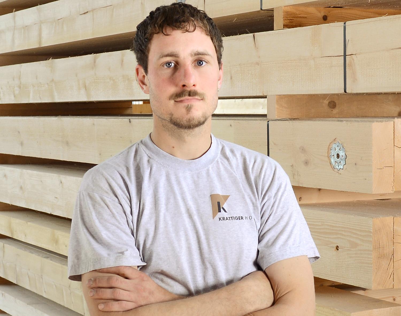 Rolf Bosch   Zimmermann EFZ   Krattiger Holzbau AG Amriswil