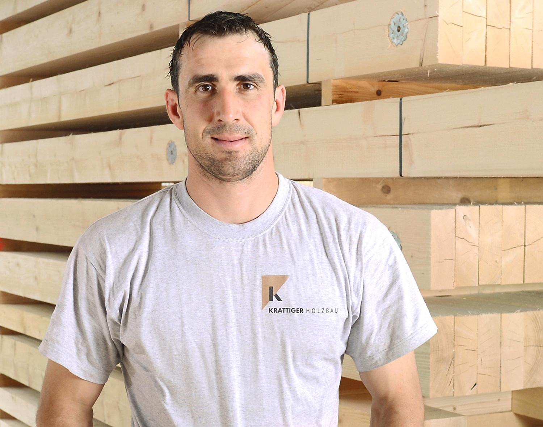 Martin Brühlmann | Vorarbeiter Zimmerei | Krattiger Holzbau AG Amriswil