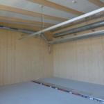 Trittschall-Dämmung im Holzbau: Schwimmend verlegter Unterlagsboden mit Trittschalldämmung im AZ Galgenholz in Frauenfeld | Krattiger Holzbau AG Amriswil