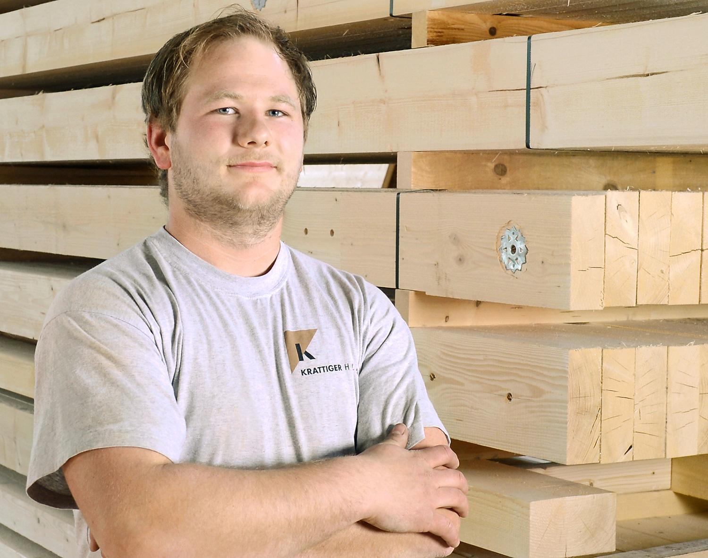 Ruben Diefenbacher | Vorarbeiter Zimmerei | Krattiger Holzbau AG Amriswil