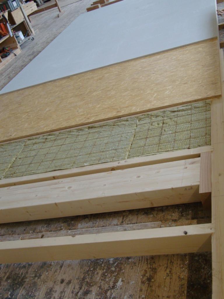 Aussenwand: Platzsparende Integration von Dämmmaterial | Krattiger Holzbau AG Amriswi