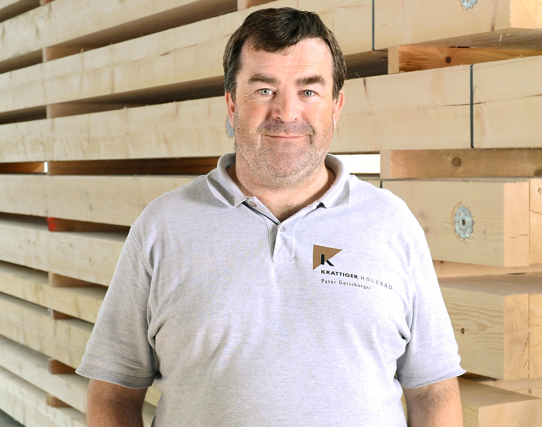 Peter Geissberger | Bauleiter/Techniker | Krattiger Holzbau AG Amriswil
