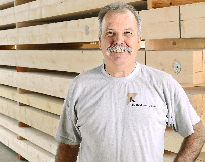 Guido Gubser | Vorarbeiter Zimmerei | Krattiger Holzbau AG Amriswil