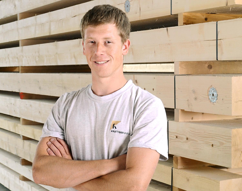 Stefan Huber | Zimmermann EFZ | Krattiger Holzbau AG Amriswil