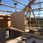 Grossflächige Bauteile: Platzierung in umgebauter Scheune in Zihlschlacht | Krattiger Holzbau AG Amriswil