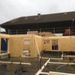Kurze Bauzeit dank Vorfabrkation: Holzelemente für Wohnhaus in Zihlschlacht | Krattiger Holzbau AG Amriswil