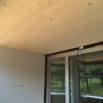 «Wohnen im Alter» Siegershausen: Decke als Brettstapel-Konstruktion | Krattiger Holzbau AG Amriswil