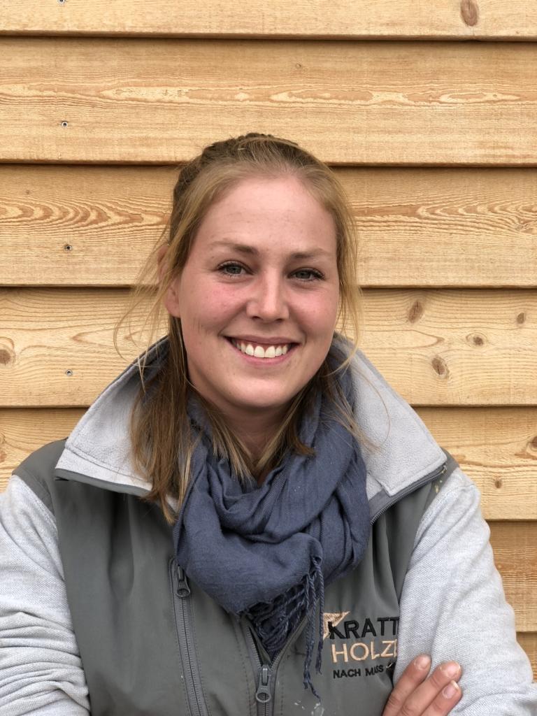Jeanine Bütikofer | Zimmereiarbeiterin | Krattiger Holzbau AG Amriswil