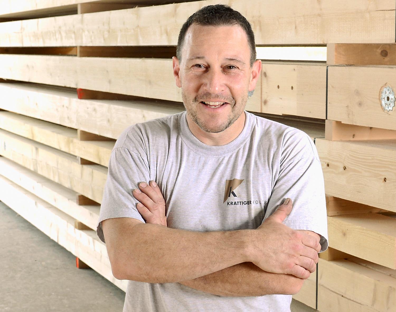 Kurt Koch | Vorarbeiter Zimmerei/Bodenleger | Krattiger Holzbau AG Amriswil
