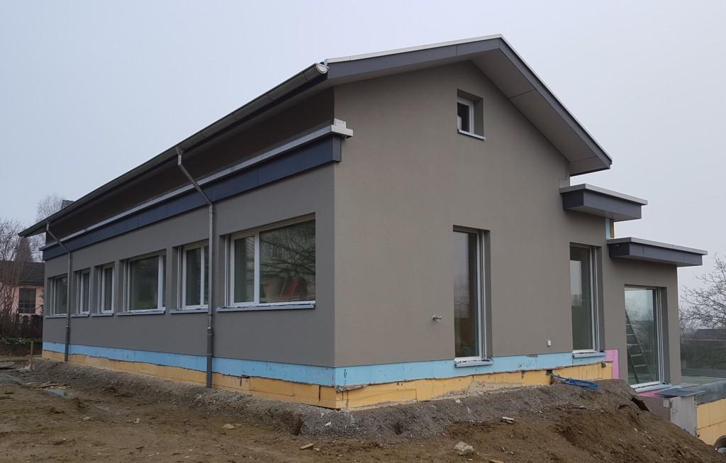 EFH in Weinfelden: Kompaktfassade mit Pavatex Diffutherm l Krattiger Holzbau AG Amriswil
