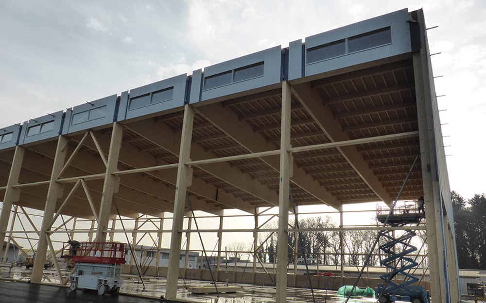 Holz-Industriebauten | Krattiger Holzbau AG Amriswil