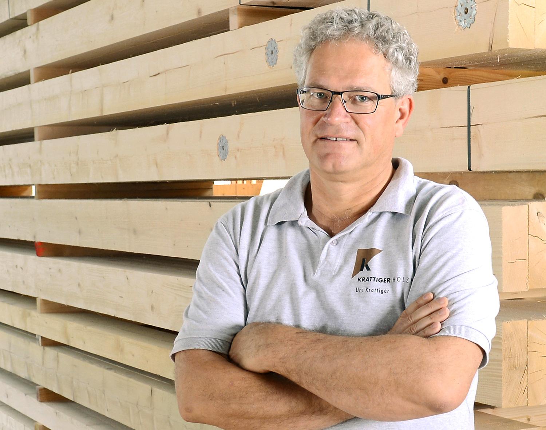 Urs Krattiger | Geschäftsführer/Zimmermeister | Krattiger Holzbau AG Amriswil