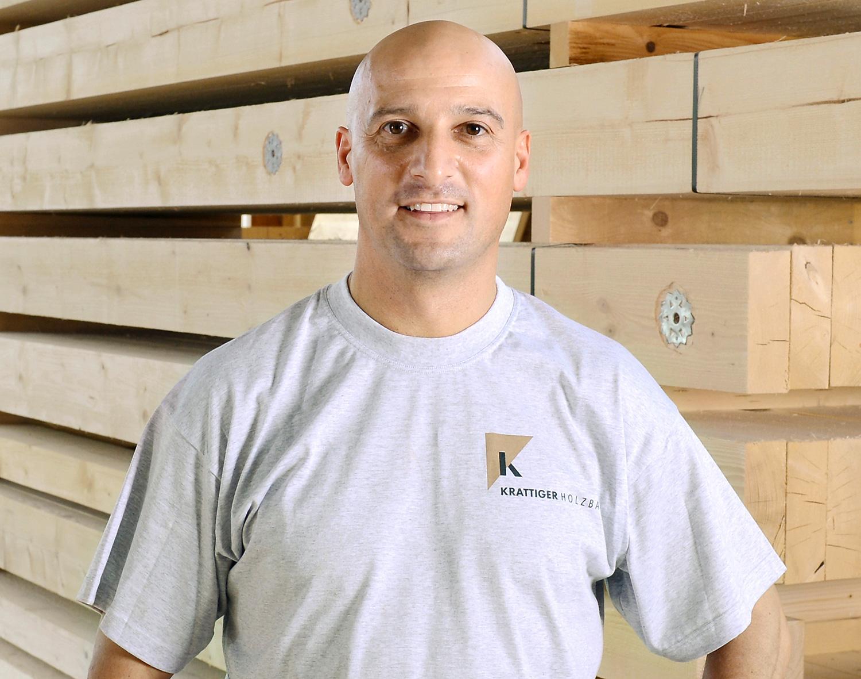 Sandro Protopapa | Vorarbeiter Schreinerei/Avor | Krattiger Holzbau AG Amriswil