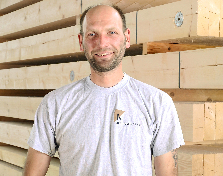 Danny Rudolph | Vorarbeiter Zimmerei | Krattiger Holzbau AG Amriswil