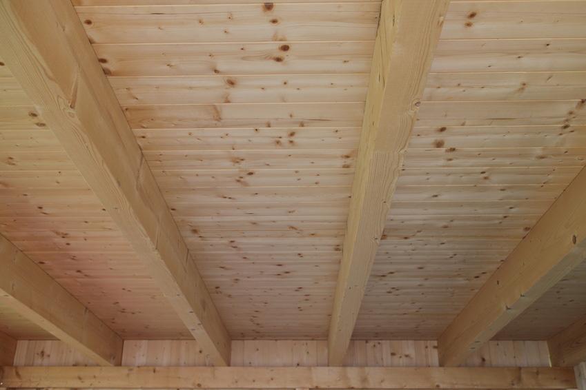 Innenausbau: Holzelement-Decke | Krattiger Holzbau AG Amriswil