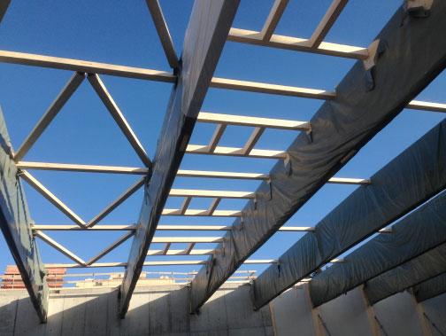 Holzbinder Royal Döner AG Winterthur: 1,9 m x 27,5 m, 5,5 t | Krattiger Holzbau AG Amriswil