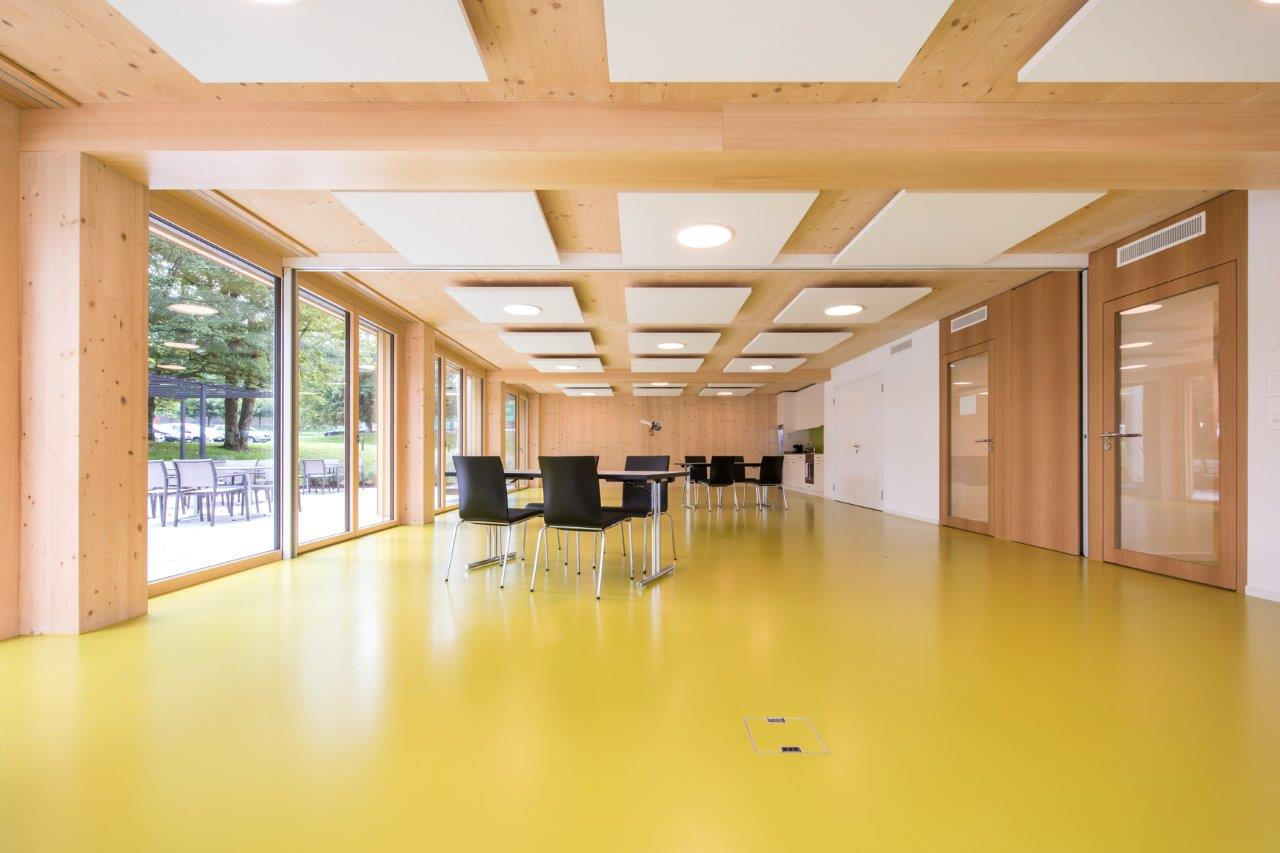 Alterssiedlung Reutenen Frauenfeld: Böden als HBV-Konstruktion l Krattiger Holzbau AG Amriswil
