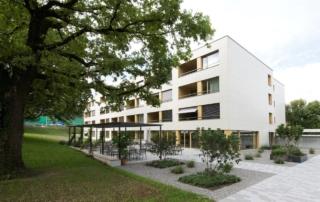 Alterssiedlung Reutenen Frauenfeld: Rockpanel-Fassade l Krattiger Holzbau AG Amriswil