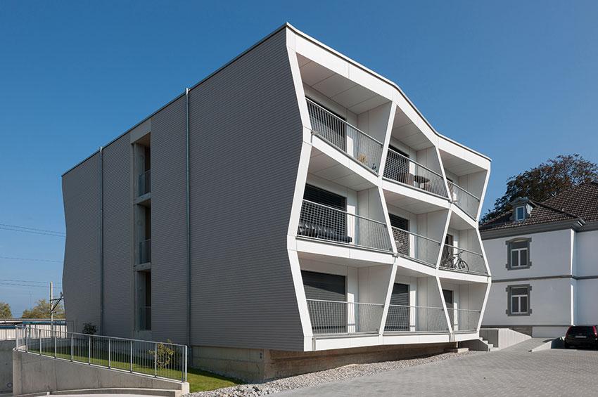 Dimensionen für Ausnahmetransporte: UNUS-Module Kreuzlingen | Krattiger Holzbau AG Amriswil