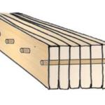 Brettstapel: Die einzelnen Lamellen sind in der Regel 40 bis 45 mm dick | Krattiger Holzbau AG Amriswil