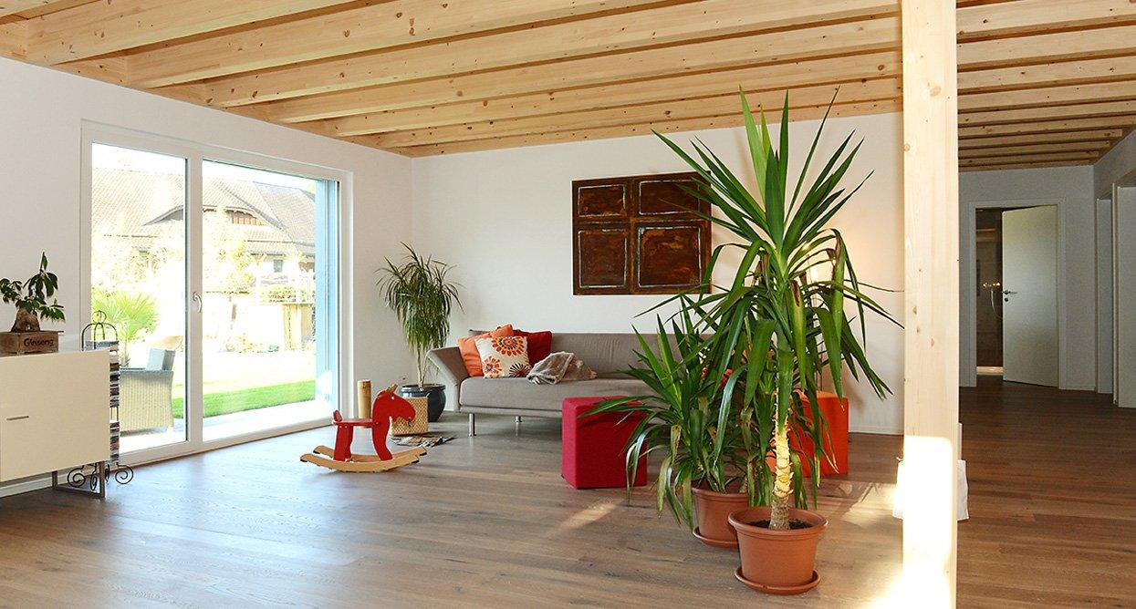 Innenausbau und Möbel aus Holz | Krattiger Holzbau AG Amriswil