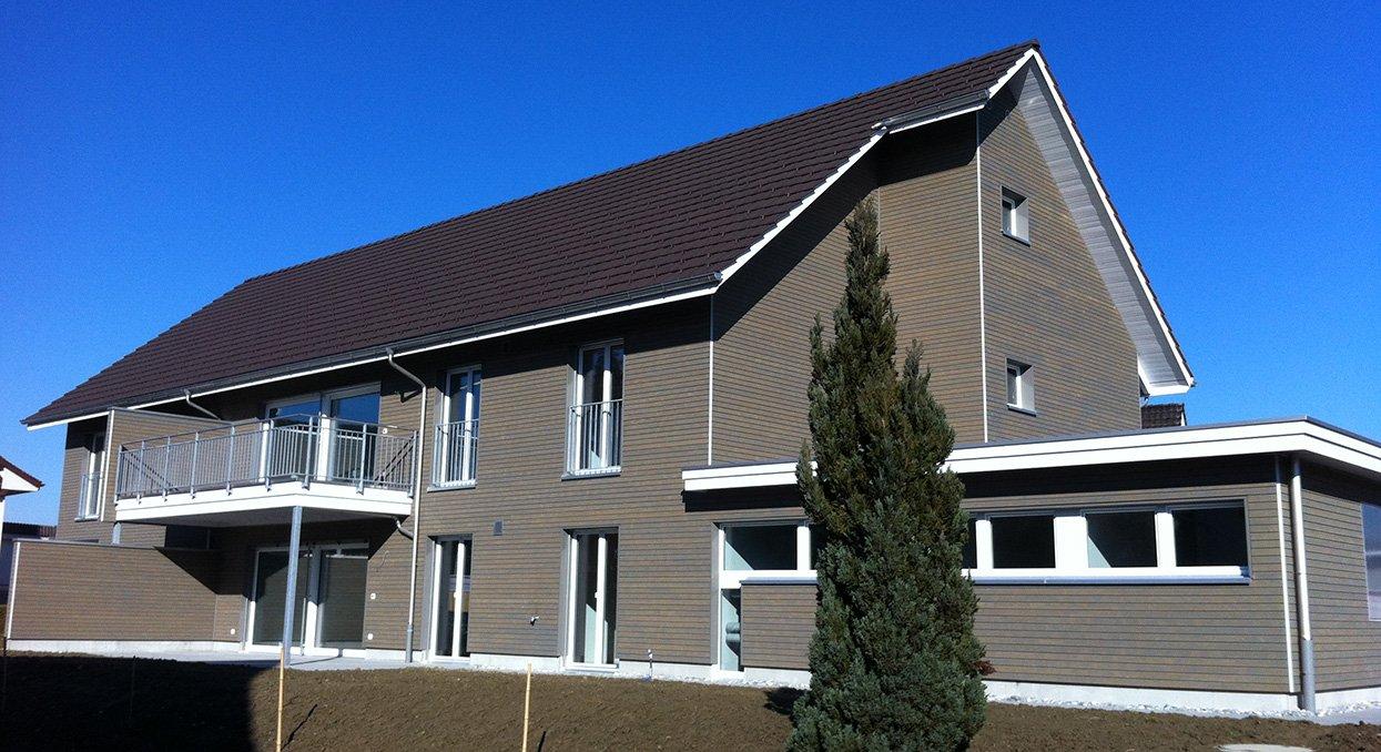 Holz-Neubau | Krattiger Holzbau AG Amriswil