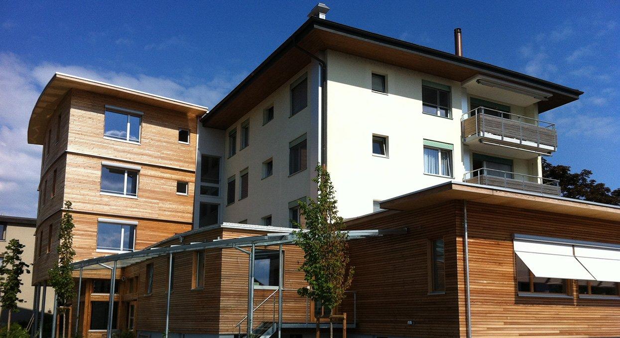 Holz-Anbau | Krattiger Holzbau AG Amriswil