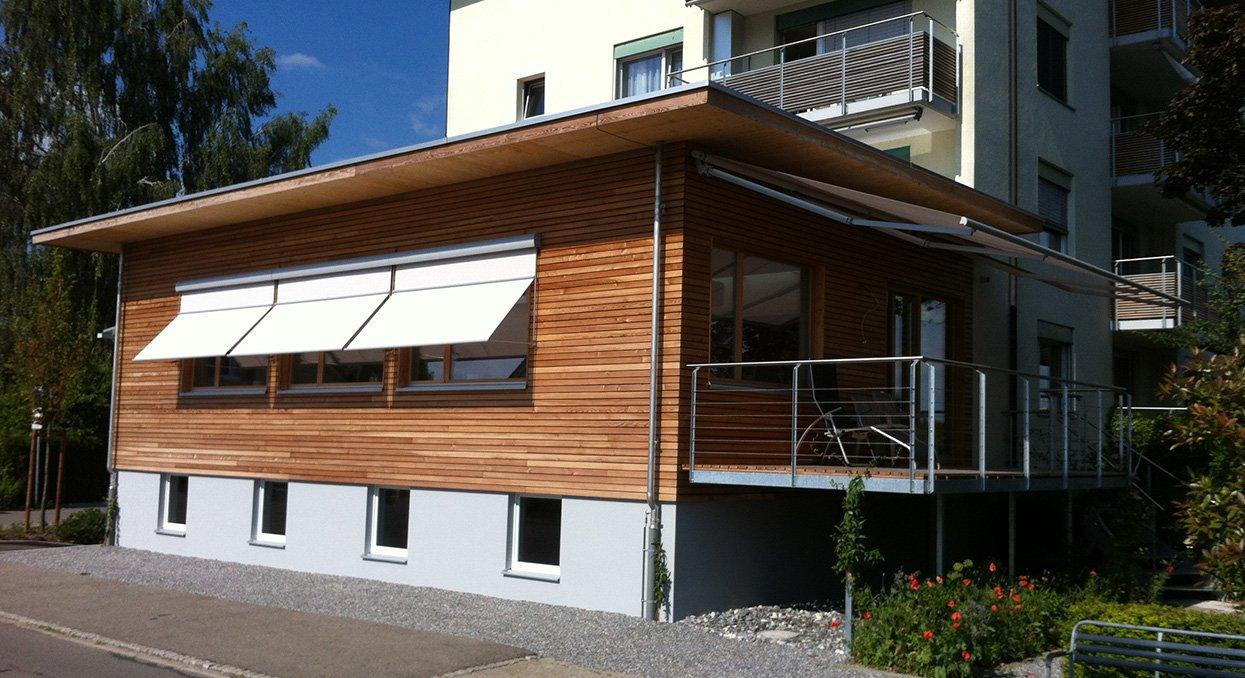 Anbau aus Holz | Krattiger Holzbau AG Amriswil