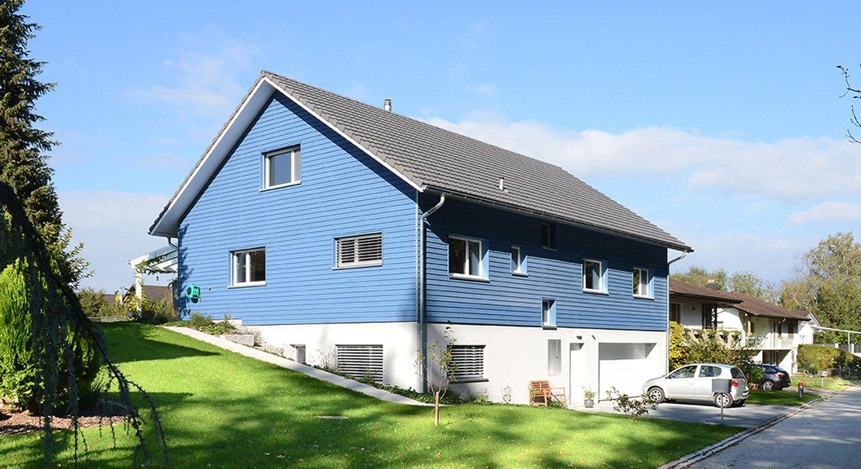 Neubau: EFH aus Holz | Krattiger Holzbau AG Amriswil