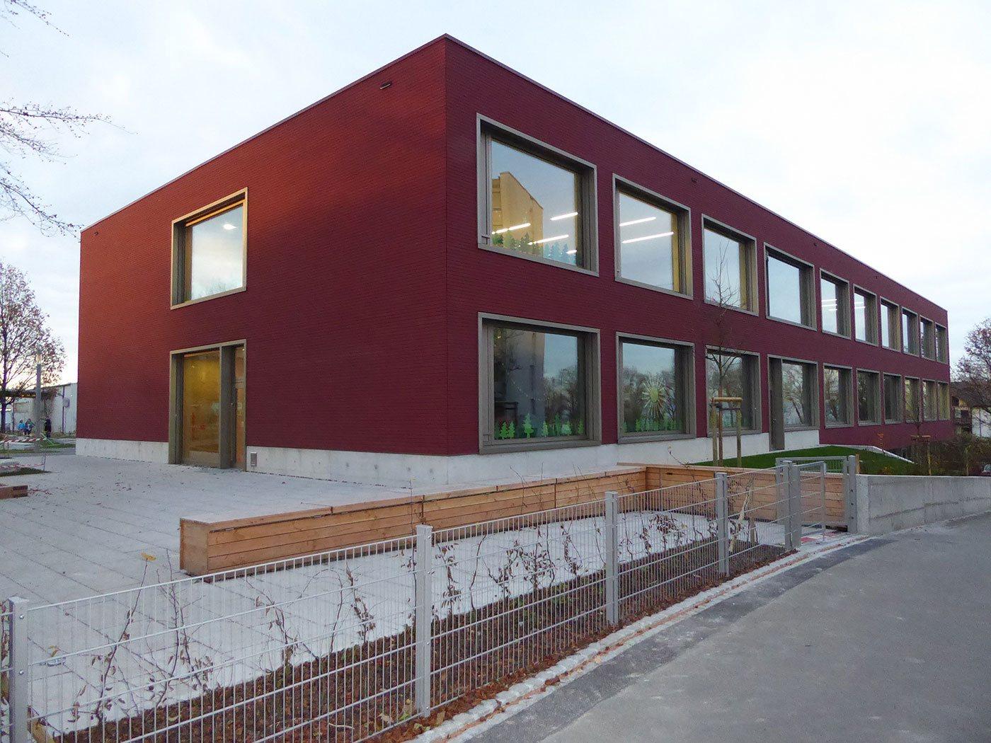 Holz-Neubau Schulhaus Seegarten Arbon | Krattiger Holzbau AG Amriswil