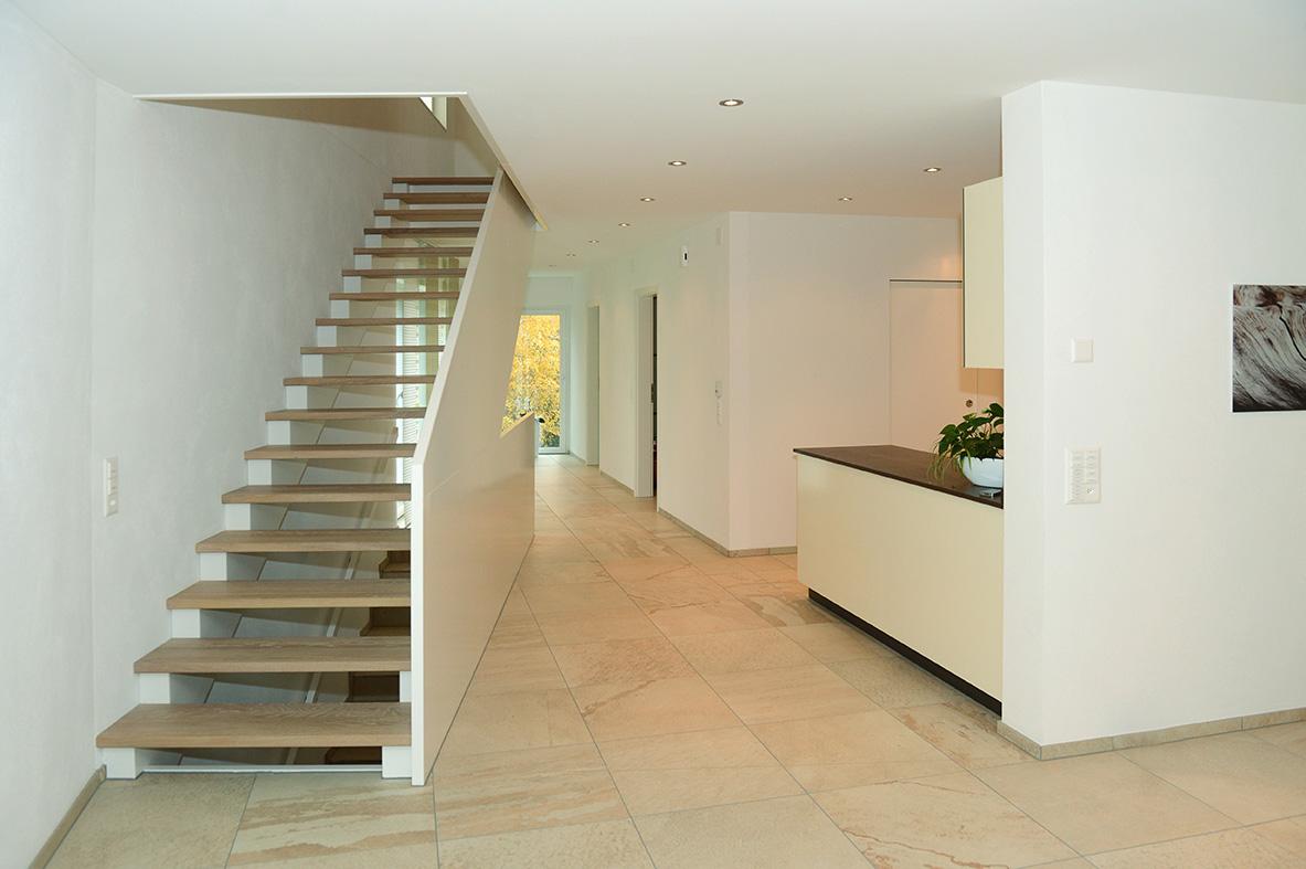 Innenausbau: Treppe aus Holz | Krattiger Holzbau AG Amriswil